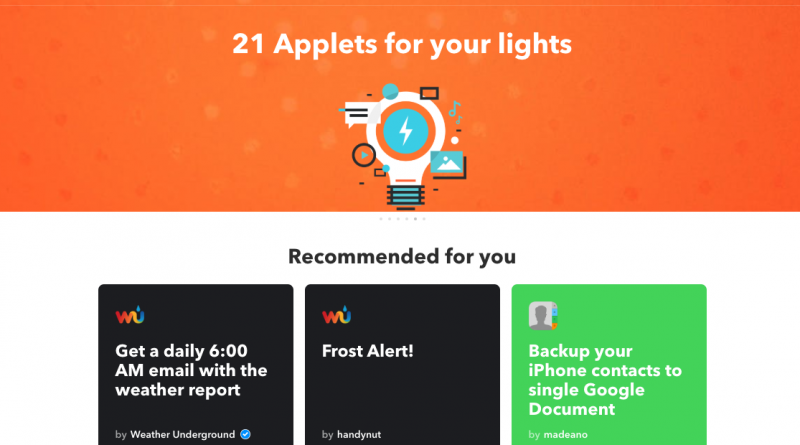 Discover IFTTT and Applets IFTTT