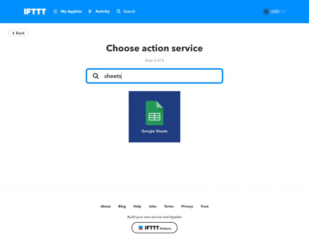 Make an Applet IFTTT (17)